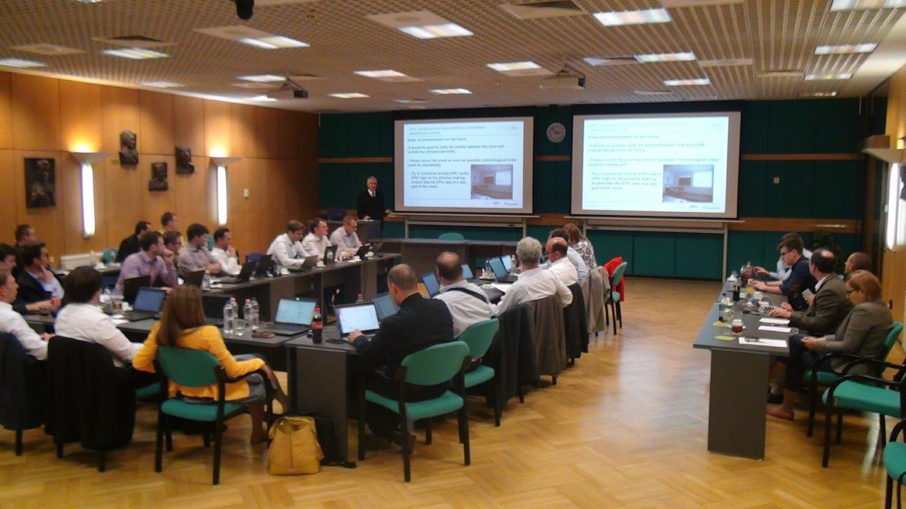 The  fifth official consortium meeting of the EU H2020 research project EPIC