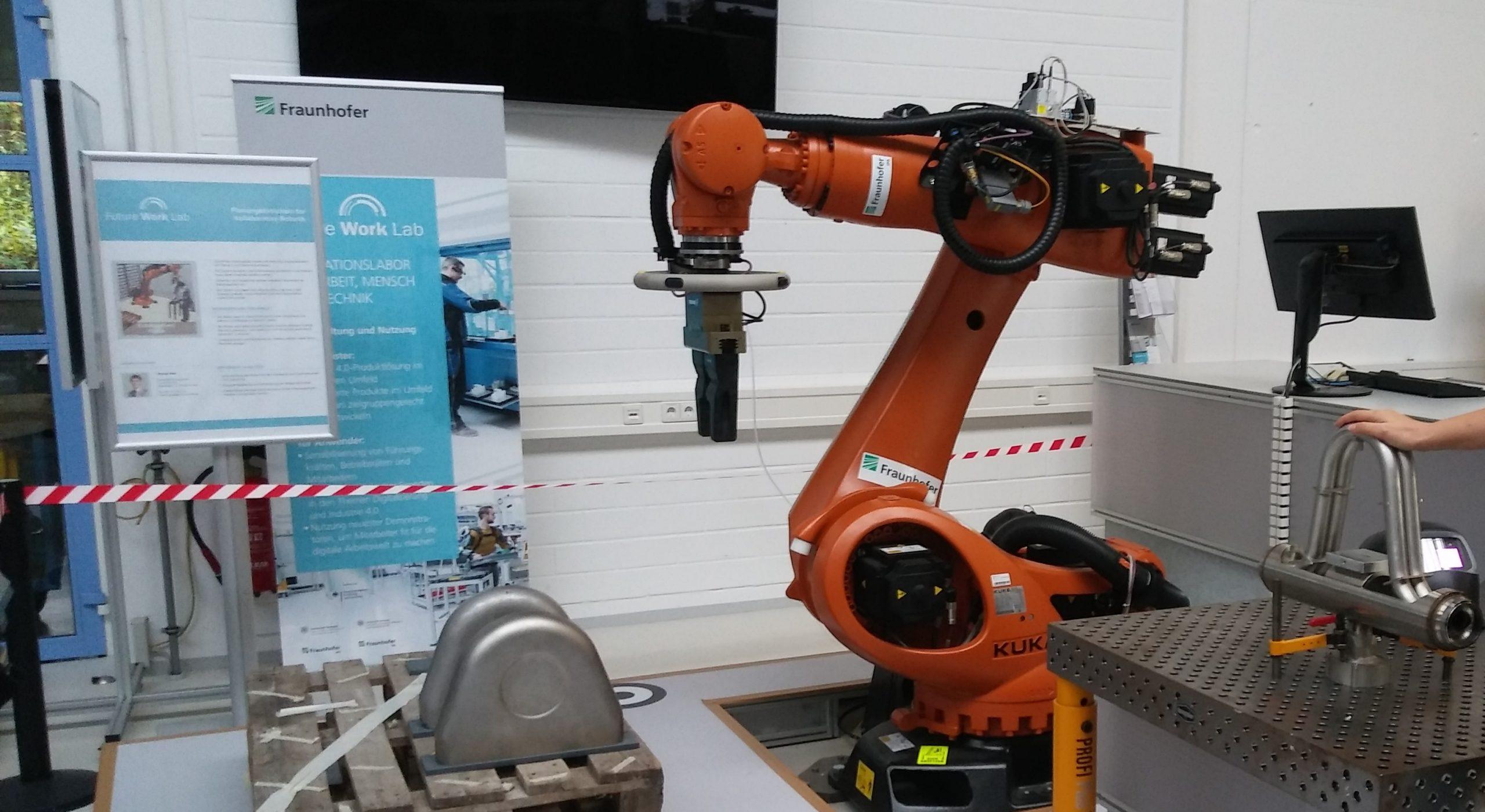Learning Factory Workshop in Stuttgart